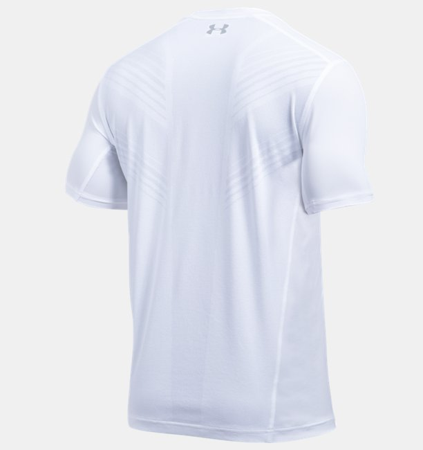Camiseta Gola V UA Threadborne Center Court Masculina